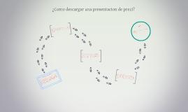 Copy of ¿Como descargar una presentacion de prezi?