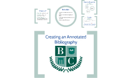 Copy of Creating an Annotated Bibliography (7.16.14)