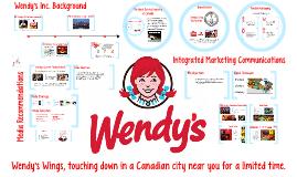 IMC Plan: Wendy's