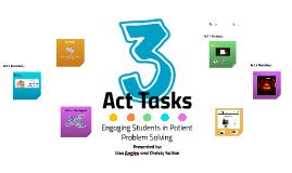 Act Tasks