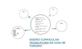 DISEÑO CURRICULAR TECNICATURA EN GUÍA DE TURISMO