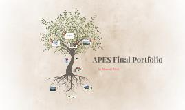 apes final portfolio