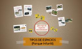 TIPOS DE ESPACIOS