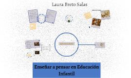 Enseñar a pensar en Educación Infantil