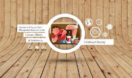 OSCM: Childhood Obesity