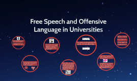 Free Speech and Offensive Language in Universities