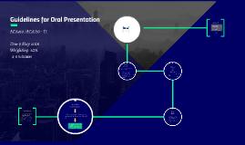 Copy of ORAL PRESENTATION TASK - ACA411