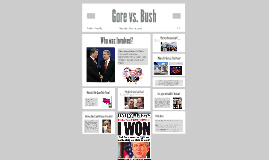 Gore vs. Bush