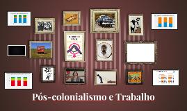 Colonialidade do poder e trabalho
