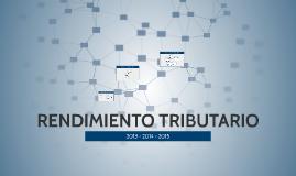 Rendimiento Tributario 2013