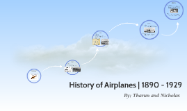 History of Airplanes | 1890 - 1929