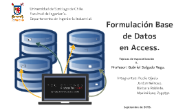 Formulación Base de Datos