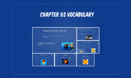 Chapter 03 vocabulary