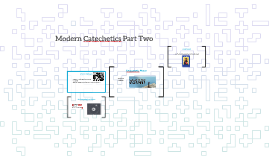 Modern Catechetics Part Two