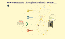 Key to Success is Through Blanchard's Dream.....