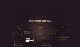 RETENCIÓN DE ICA