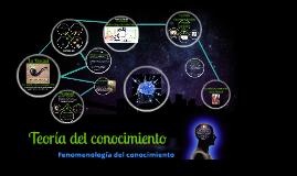 Copy of Copy of Teoria del conocimiento
