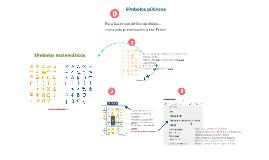 Copy of Copy of Matemáticas simbolos