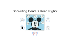 Do Writing Centers Read Right? (And does Reading Right look like?)