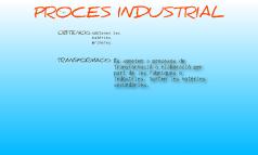 Procesos industrials