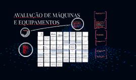 Copy of AVALIAÇÃO DE MÁQUINAS E EQUIPAMENTOS