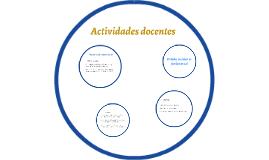 Funciones docentes PFDEV