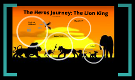 the lion king a hero s journey Hero's journey: the lion king due no due date points 100 no content / -- i'll write free-form comments when assessing students use this rubric for assignment grading hide score total for assessment results cancel create.