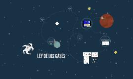 LEY DE LOS GASES