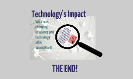 Technology's Impact from then to Now