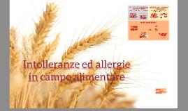 Intolleranze e allergie