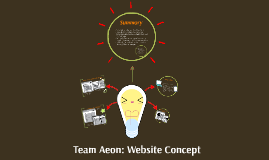 Team Aeon{ Website Concept]