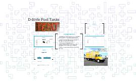 D-Style Fuel Tanks