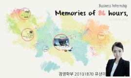 Memories of 86 hours,