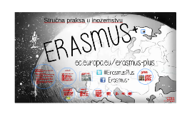 Stručna praksa u inozemstvu - ERASMUS+