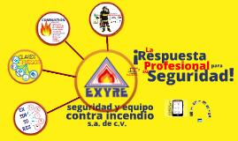 EXYRE | Prevención y Combate de Incendios