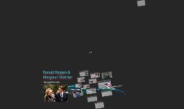 Ronald Regean & Margaret Thatcher