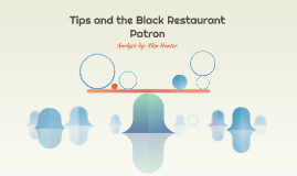 Tips and the Black Restaurant Patron