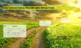 Copy of Copy of SELF-REFLECTION