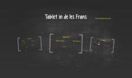 Tablet in de les Frans