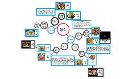 마인드맵(음식)