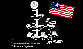 ● Transportation​ ​of​ ​Goods​ ​(Gibbons​ ​v​ ​Ogden)