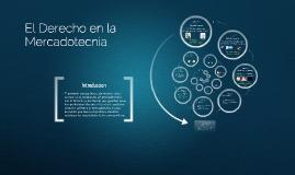 Copy of Derecho en la Mercadotecnia