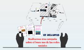 Realizamos una campaña sobre el buen uso de las redes social