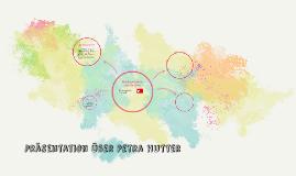 Präsentation über Petra Hutter