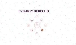 ESTADO Y DERECHO