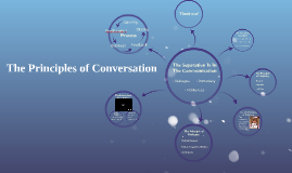 The Principles of Conversation