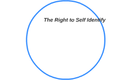 The Right to Self Identify.