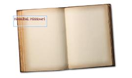Hannibal Scrapbook.