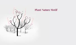 Plant/Nature Motif
