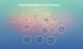 Copy of Psychoanalytic Social Theory